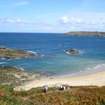 La côte nord de Bretagne depuis Saint Malo